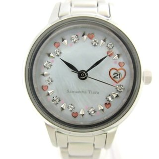 サマンサティアラ(Samantha Tiara)のサマンサ ティアラ 腕時計美品  - ST-06(腕時計)