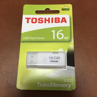 東芝 - 東芝 TOSHIBA USBメモリー 16GB