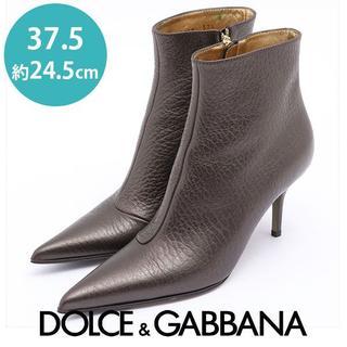 DOLCE&GABBANA - ほぼ新品❤ドルチェ&ガッバーナ ショートブーツ  37.5(約24.5cm)