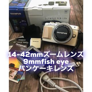 OLYMPUS - OLYMPUS PEN pl7  ズームレンズ+9mm fish eyeレンズ