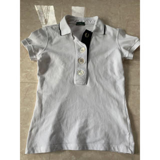 フレッドペリー(FRED PERRY)のフレッドペリー  ポロシャツ ホワイト×ブラック(ポロシャツ)