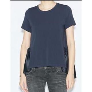 バーニーズニューヨーク(BARNEYS NEW YORK)のYOKOCHAN フリルシャツ(Tシャツ(半袖/袖なし))