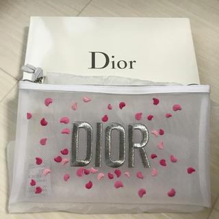 Dior - ディオール Dior ポーチ メッシュ 花びら 非売品 ノベルティ 限定 完売