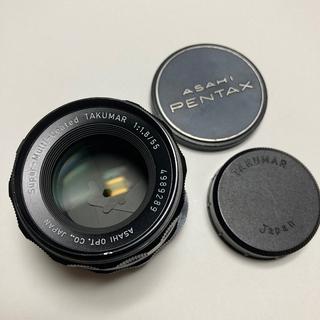 ペンタックス(PENTAX)の美品 M42銘玉 S-M-C TAKUMAR 55mm F1.8 純正前後CAP(レンズ(単焦点))