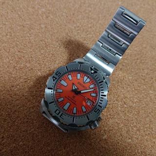 セイコー(SEIKO)の希少 セイコー プロスペックス オレンジモンスター SBDC023 自動巻き (腕時計(アナログ))