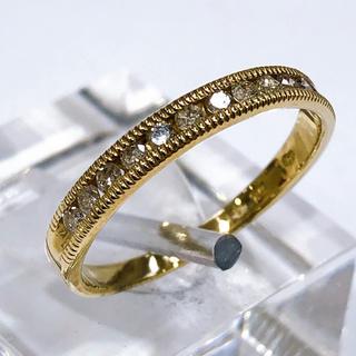 K10 /WG ダイヤモンド リング(リング(指輪))