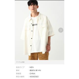 レイジブルー(RAGEBLUE)のレイジブルー オーバーサイズ半袖シャツ(シャツ)