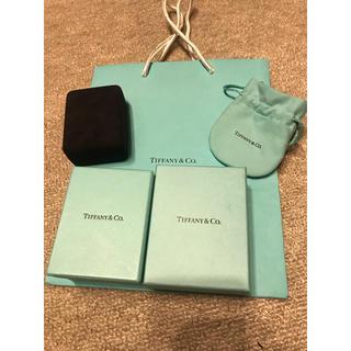 ティファニー(Tiffany & Co.)のティファニー 空箱 ボックス ネックレス(その他)