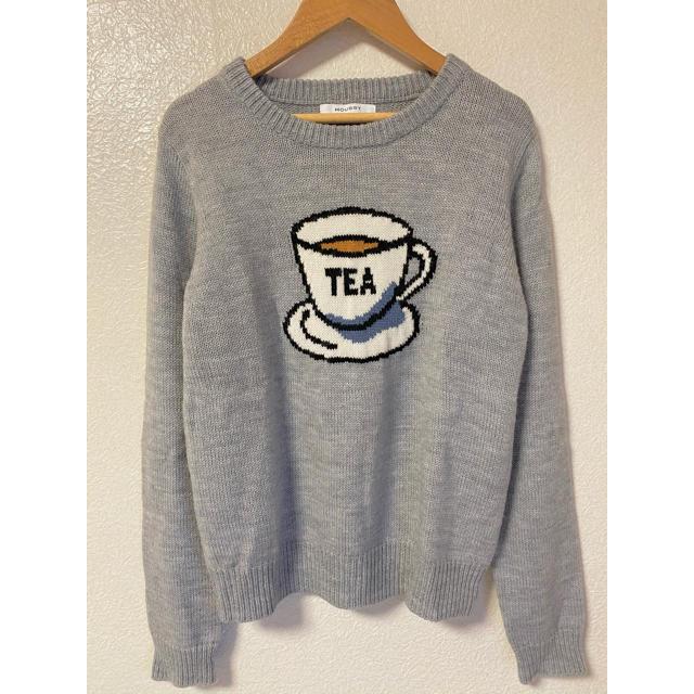 moussy(マウジー)の【値下げ】Moussy  ティーカップセーター 美品♡ レディースのトップス(ニット/セーター)の商品写真