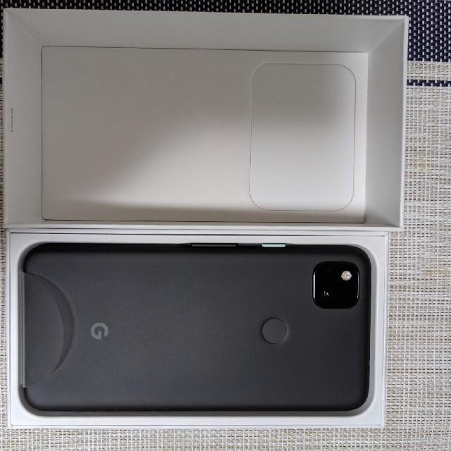 ANDROID(アンドロイド)の(tkm.tkh様専用)pixel4a 完全未使用 ケース、保護フィルム付 スマホ/家電/カメラのスマートフォン/携帯電話(スマートフォン本体)の商品写真
