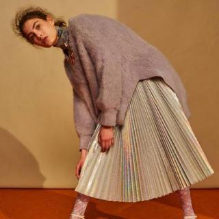 ルシェルブルー(LE CIEL BLEU)の【完売商品】Hologram Pleated Skirt IRENE(ロングスカート)