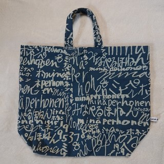 ミナペルホネン(mina perhonen)のミナペルホネン minape bag ミナペバッグ 中サイズ(トートバッグ)