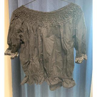 オフショル ブラック(Tシャツ(半袖/袖なし))