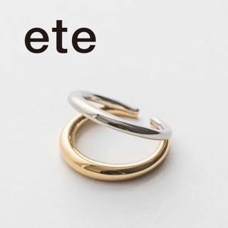 ete - 【9/26まで値下中】ete エテ バイカラーリングカフ 9号