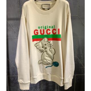 グッチ(Gucci)の【GUCC】子猫付 original トレーナー(トレーナー/スウェット)