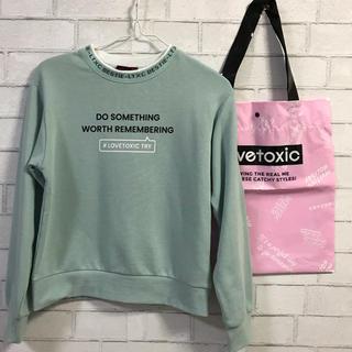 ラブトキシック(lovetoxic)のラブトキシック トレーナーS(Tシャツ/カットソー)