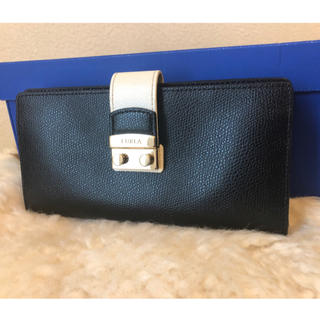 Furla - 超美品本物フルラ高級レザー長財布♫