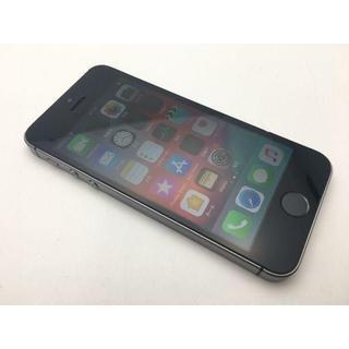 アップル(Apple)の203 au iPhoneSE 16GB 極美品 バッテリー91% A1723(スマートフォン本体)