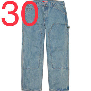 Supreme - Supreme Double Knee Denim Painter Pant S