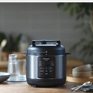 Panasonic - パナソニック電気圧力なべSR-MP300-K(ブラック)調理容量2.0l