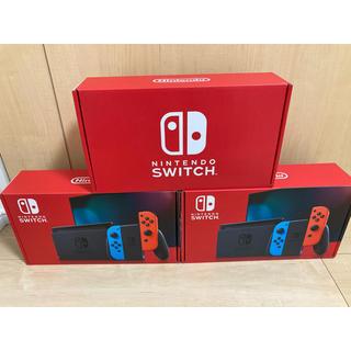 ニンテンドースイッチ(Nintendo Switch)の【3台】Nintendo Switch  新品未使用(家庭用ゲーム機本体)