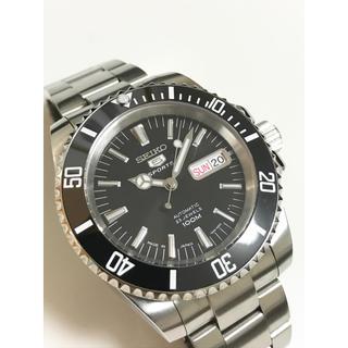 セイコー(SEIKO)のセイコームーブNH36使用 MOD カスタム サブマリーナ ブレスタイプ(腕時計(アナログ))