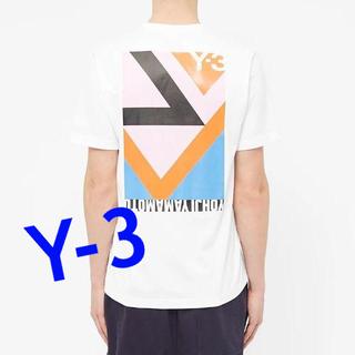 ワイスリー(Y-3)の値下げ‼大人気Y-3 国内オンライン完売モデル Lサイズ(Tシャツ/カットソー(半袖/袖なし))