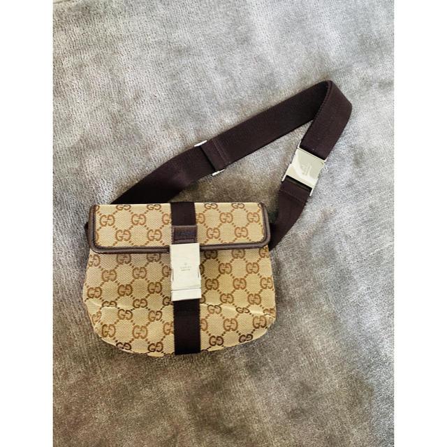 Gucci(グッチ)のGUCCI ウエストポーチ レディースのバッグ(ボディバッグ/ウエストポーチ)の商品写真