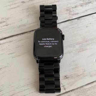アップルウォッチ(Apple Watch)のApple Watch series5 ステンレススチール(腕時計(デジタル))