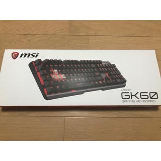 プレイステーション4(PlayStation4)のmsi VIGOR GK60 ゲーミングキーボード(PC周辺機器)