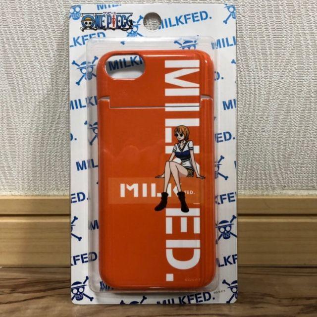 MILKFED.(ミルクフェド)の最ミルクフェド×ワンピースコラボ スマホケース スマホ/家電/カメラのスマホアクセサリー(iPhoneケース)の商品写真