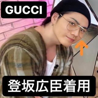 Gucci - 登坂広臣着用 GUCCI メタル アビエーター サングラス