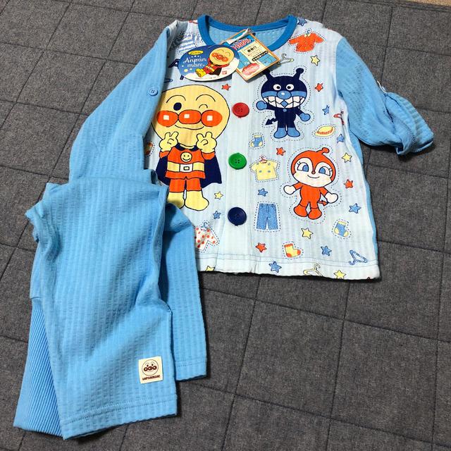 アンパンマン(アンパンマン)のアンパンマン 2ウェイパジャマ95 キッズ/ベビー/マタニティのキッズ服男の子用(90cm~)(パジャマ)の商品写真