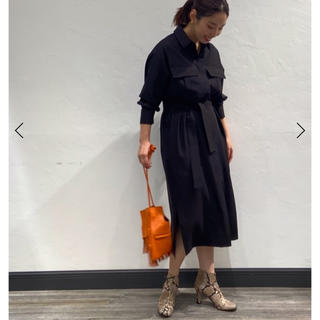 DEUXIEME CLASSE - NOBLE  ALANI the grey別注ポケットドレス