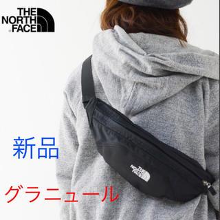 THE NORTH FACE - 新品 ノースフェイス グラニュール ボディバッグ ウエストーポーチ 黒
