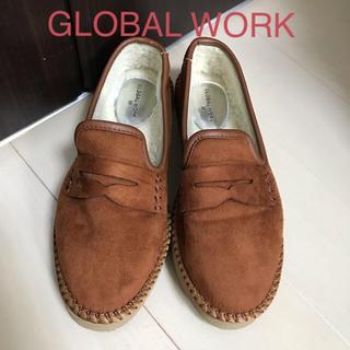 グローバルワーク(GLOBAL WORK)のGLOBAL WORK モカシン フラットシューズM(スリッポン/モカシン)