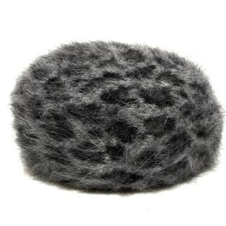 バーニーズニューヨーク(BARNEYS NEW YORK)のバーニーズ 帽子 57 グレー×黒(その他)