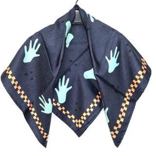 ブルガリ(BVLGARI)のBVLGARI(ブルガリ) スカーフ美品  -(バンダナ/スカーフ)