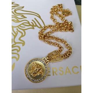 ヴェルサーチ(VERSACE)の国内即納 オススメ!Versaceヴェルサーチ ネックレス  ゴールド(ネックレス)