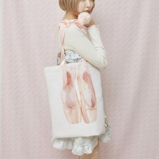 シロップ(syrup.)のetude ballet bag(エチュードバレエバッグ)(トートバッグ)