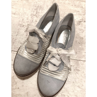 アナスイ(ANNA SUI)のアナスイ ANNASUI レースシューズ 22.5cm(ローファー/革靴)