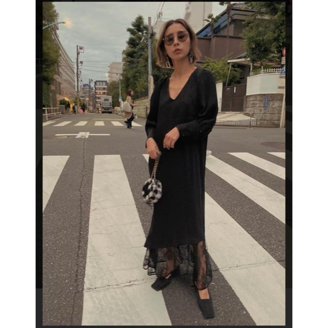 Ameri VINTAGE(アメリヴィンテージ)のAmeri FAIRY TAIL DRESS レディースのワンピース(ロングワンピース/マキシワンピース)の商品写真