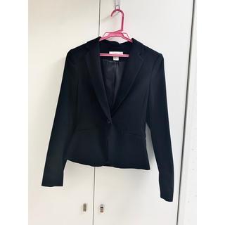 エイチアンドエム(H&M)のH&M ジャケット 黒 スーツ(スーツ)