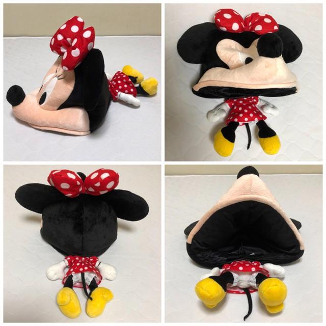 Disney(ディズニー)の極美品 ディズニー ミニー ファンキャップ 帽子 カチューシャ ハロウィン エンタメ/ホビーのおもちゃ/ぬいぐるみ(キャラクターグッズ)の商品写真