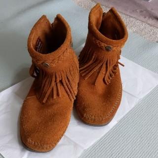 ミネトンカ(Minnetonka)のミネトンカ ショートブーツ フリンジブーツ(ブーツ)