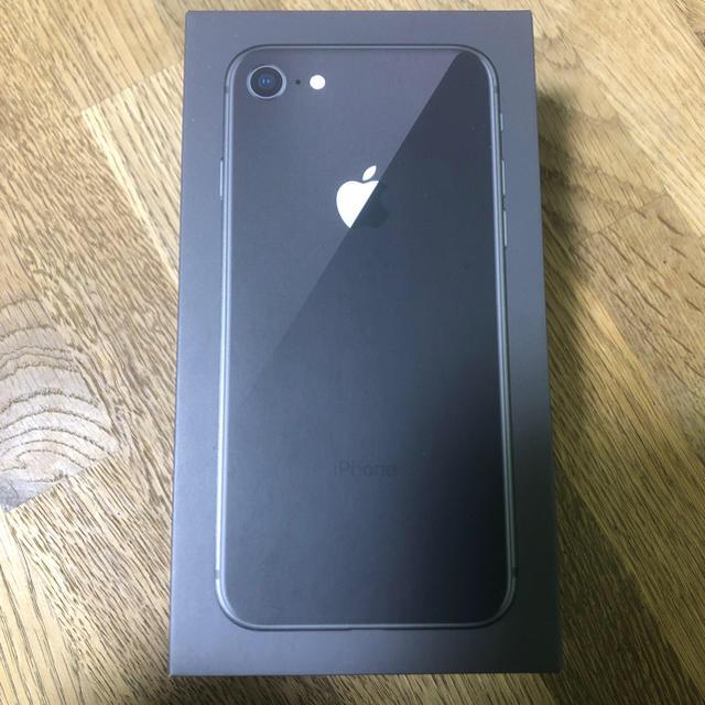 Apple(アップル)のiPhone8 simフリー スマホ/家電/カメラのスマートフォン/携帯電話(スマートフォン本体)の商品写真