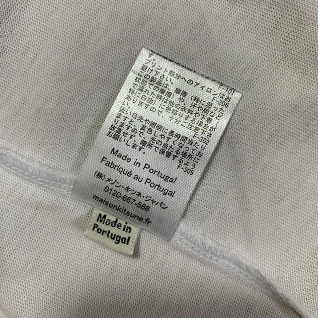 MAISON KITSUNE'(メゾンキツネ)のメゾンキツネ フォックスヘッドパッチ Tシャツ 白黒セット Mサイズ メンズのトップス(Tシャツ/カットソー(半袖/袖なし))の商品写真