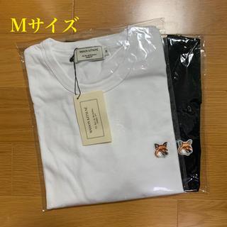 メゾンキツネ(MAISON KITSUNE')のメゾンキツネ フォックスヘッドパッチ Tシャツ 白黒セット Mサイズ(Tシャツ/カットソー(半袖/袖なし))