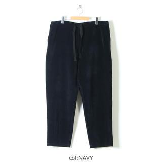 コモリ(COMOLI)の新品未使用 20AW size1 別珍ドローストリングパンツ(スラックス)