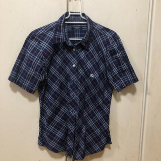 バーバリー(BURBERRY)のバーバリー  半袖シャツ Lサイズ(シャツ/ブラウス(半袖/袖なし))